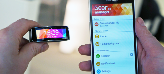 Samsung Gear Fit App