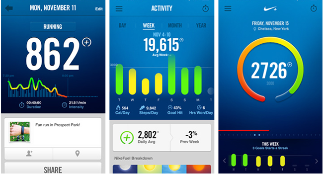 Application Mobile Nike+