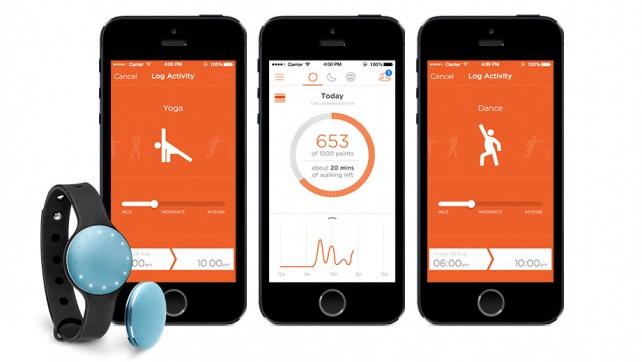 App Fitness pour capteur Misfit