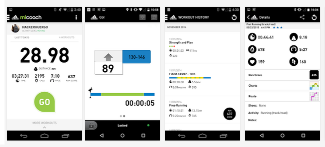 App mobile miCoach