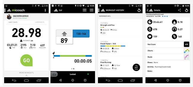 App mobile miCoach