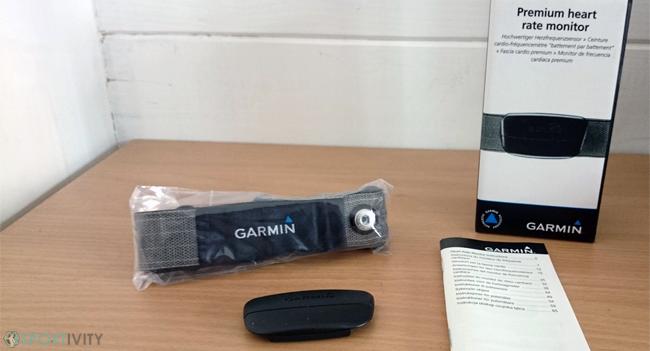 Ceinture cardiofréquencemètre Garmin SS3