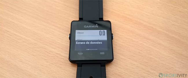 Options de course Garmin