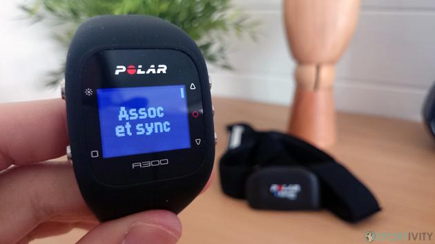 Capteur d'activité compatible cardiofréquencemètre