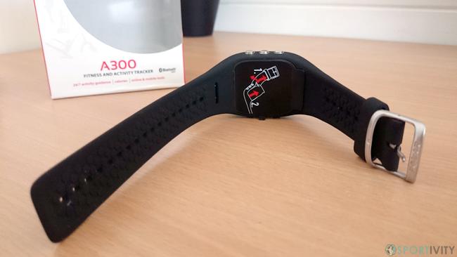Montre Sport avec bracelet en silicone