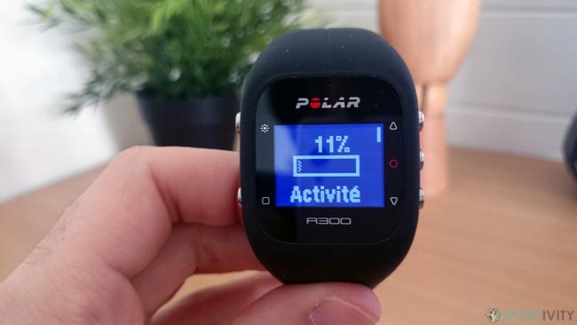 Montre avec Tracker Activité