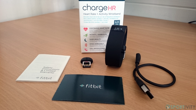 Unboxing Fitbit Charge HR