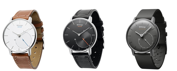 Comparatif montres Withings