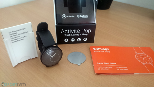 Unboxing Withings Activité Pop