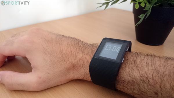 Confort du Fitbit Surge