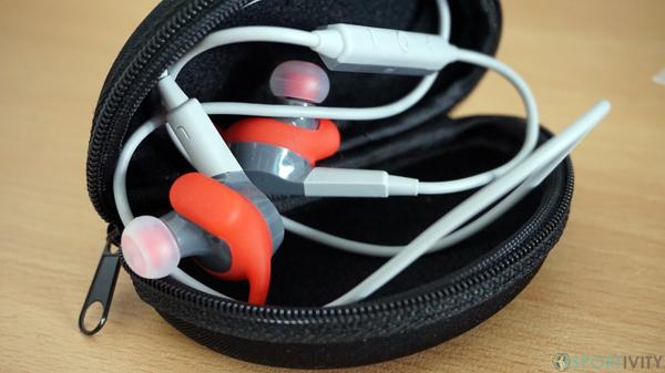 Pochette pour ranger les écouteurs