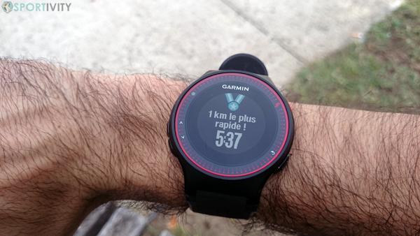 Record running 1km