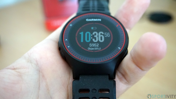 Zoom sur le cadran de la montre