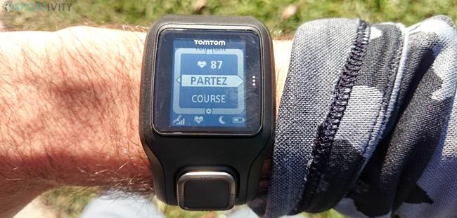 Courir avec la TomTom Runner Cardio
