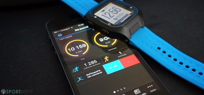 Montre GPS avec app mobile