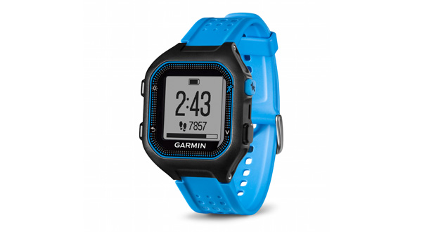 Test Garmin Forerunner 25