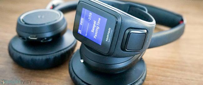 Montre de sport avec stockage pour les MP3