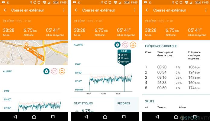 App Running Moto Body
