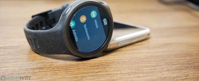 App TripAdvisor pour Smartwatch Moto 360 Sport