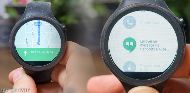 Fonctions Android Wear