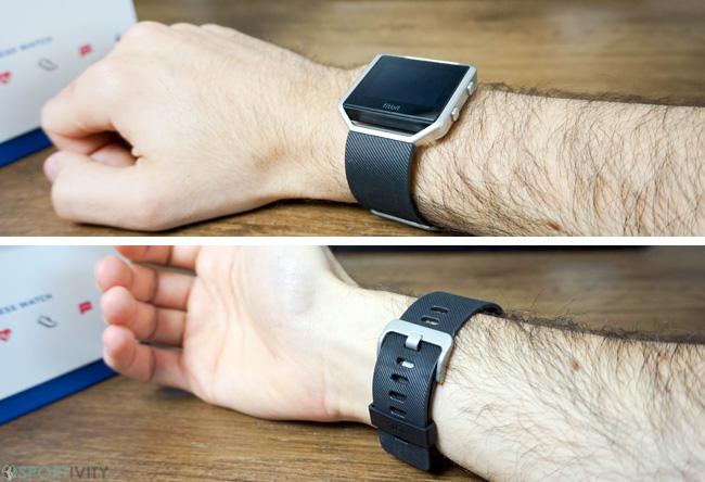Design de la Fitbit Blaze