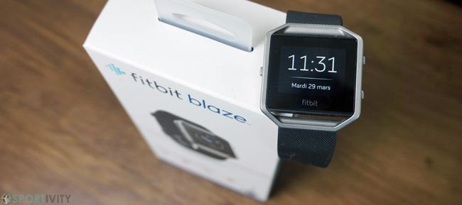 Essai de la nouvelle Fitbit Blaze