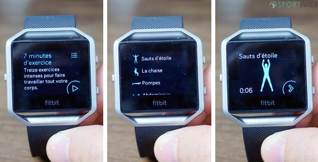 Faire de la musculation avec sa montre connectée