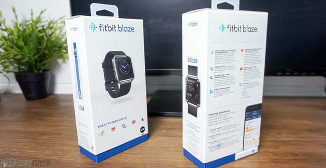 Packaging de la montre Fitness