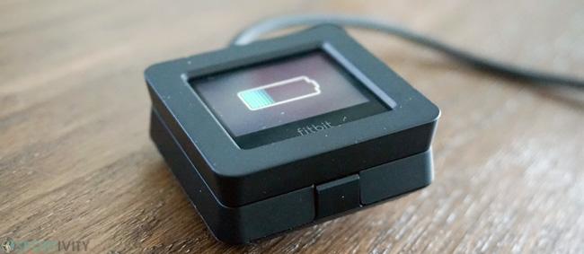 Socle de recharge de la Fitbit Blaze