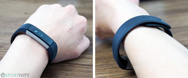 Ergonomie du bracelet podomètre