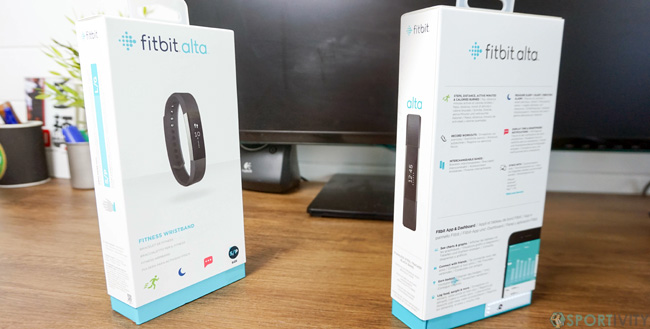 Packaging Fitbit Alta