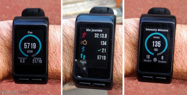 Montre sport avec Tracker Fitness