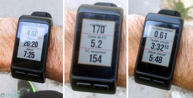Running avec Garmin Vivoactive HR