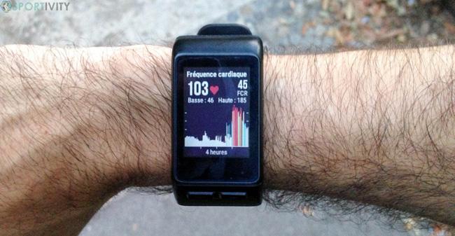 Suivi fréquence cardiaque au repos