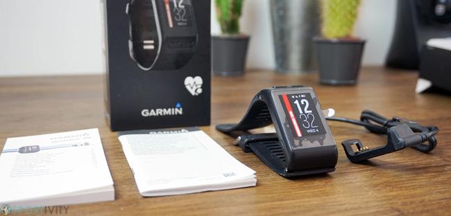 Unboxing Garmin Vivoactive HR
