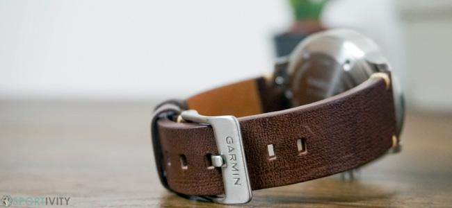 Bracelet en cuir pour Garmin Vivomove