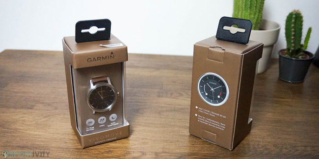 Packaging de la montre Vivomove