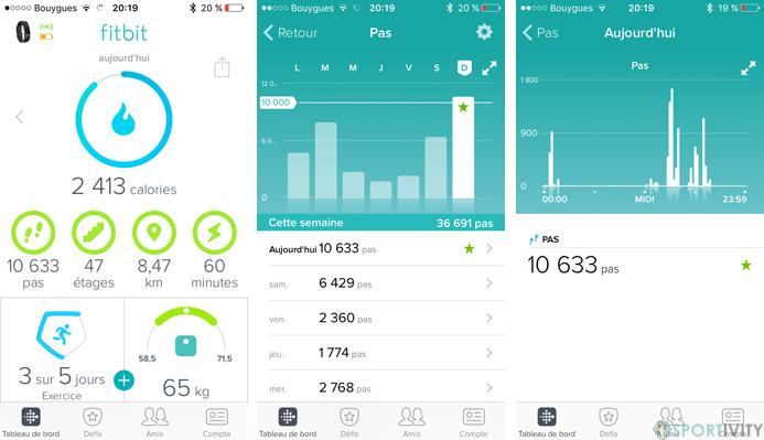 App Fitbit iOS