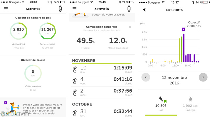 App Mobile MySport TomTom