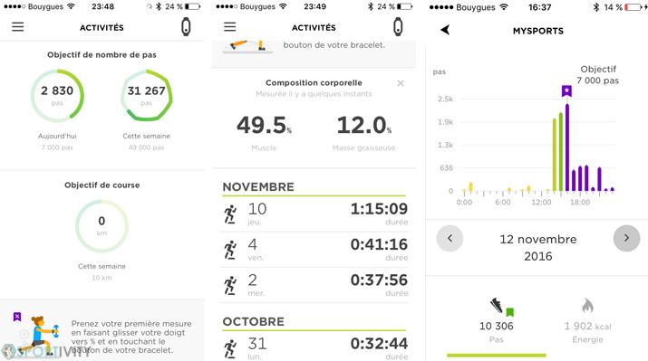 App Mobile MySport TomTom