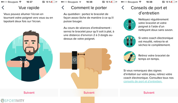 Comment porter le Fitbit Charge 2