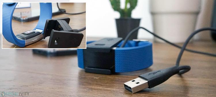 Autonomie du Fitbit Charge 2
