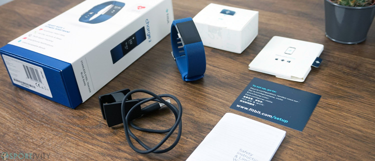 Unboxing Fitbit Charge 2