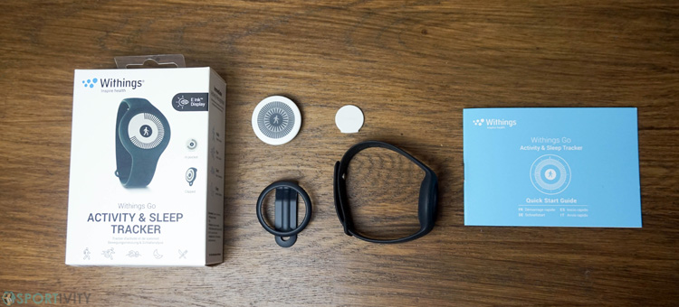 Unboxing du Withings Go