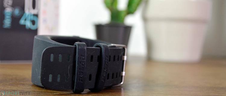 Bracelet silicone de la Polar M600