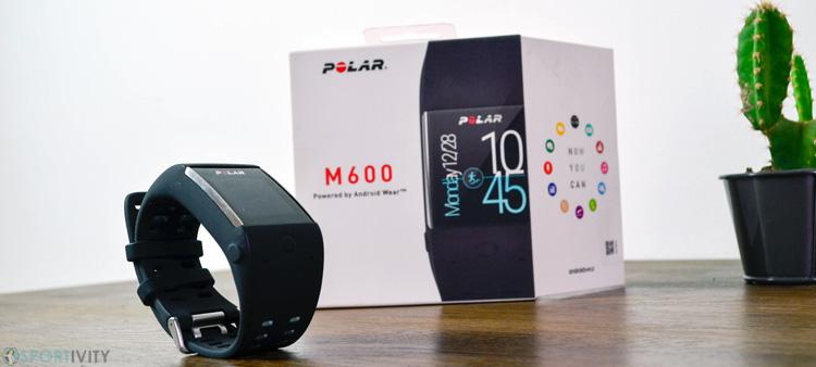 Essai de la montre Polar M600