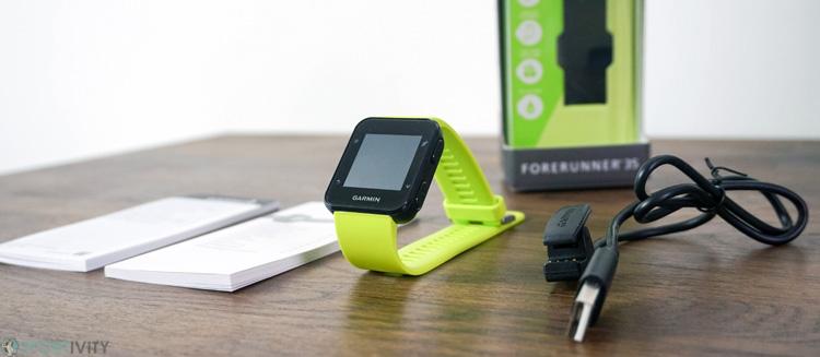 Présentation de la Garmin Forerunner 35 Cardio GPS