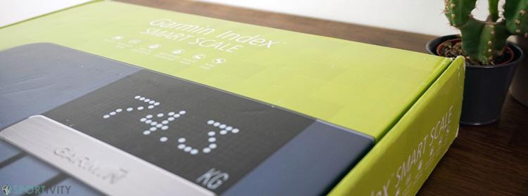 Présentation Smart Scale Garmin