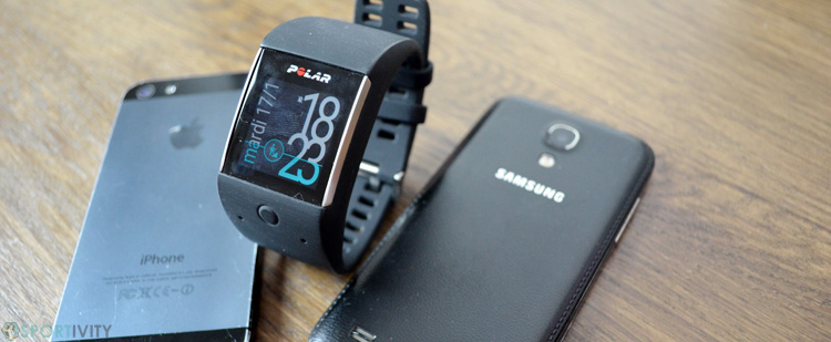 Smartwatch Polar Android ou iPhone
